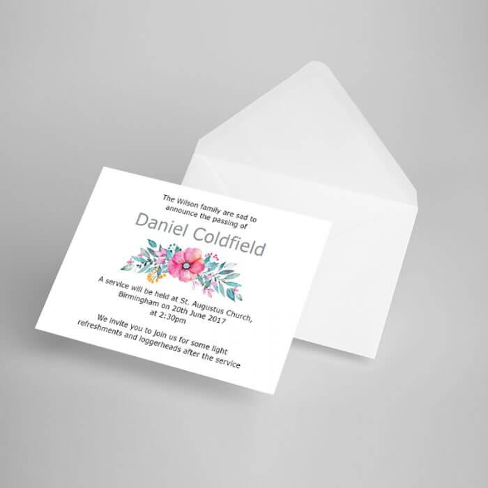 Announcement Card 08